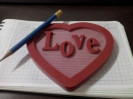 Акриловое сердце